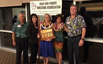 Chantal wins Maui Award