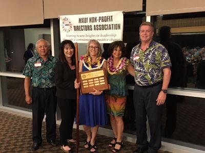 Chantal wins Maui Award
