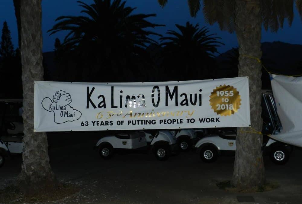 Ka Lima O Maui's 12th Annual Golf Tournament at The Dunes at Maui Lani (2018)