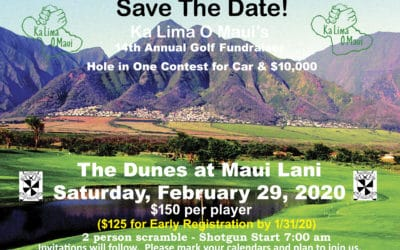 14th Annual Golf Fundraiser – Save the Date