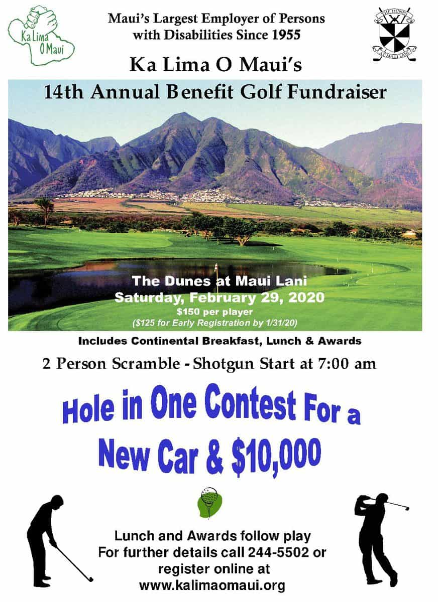 Early Registration (and reduced fee) for Golf Tournament ends one week from today. Sign up today!