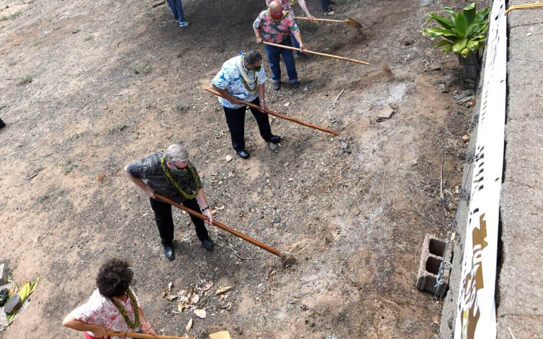 Video of Groundbreaking Ceremony of Ka Lima O Maui's New Home