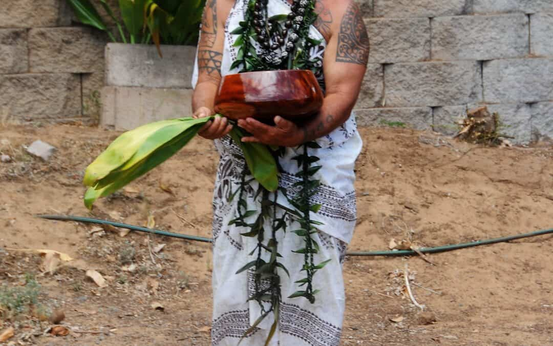Blessing of Ka Lima O Maui's New Home Site